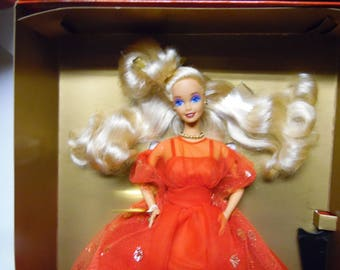 Mattel 1991 Evening Flame Barbie Doll