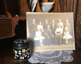 Antique Photograph - Family Photo - Antique Picture - Antique Photo - Sepia Photo