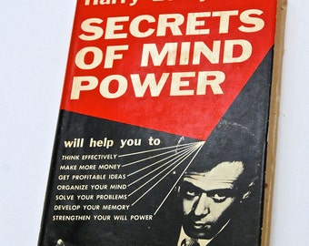 Secrets of Mind Power by Harry Lorayne 1961 First Edition