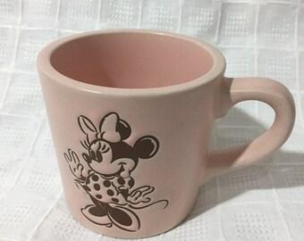 Minnie Mouse Ceramic Etsy