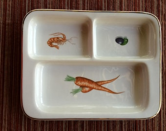 Canape tray etsy for Canape serving dishes