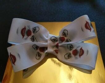 IT the clown inspired hair clip