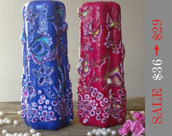 Gift for wife - Gift for her - Candle - Handmade Candle - Carved Candles - Carving