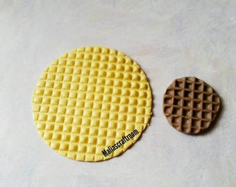 Waffle Texture Mold