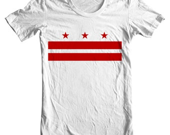 Washington D.C. T-shirt - Washington D.C. Flag - Washington T-shirt