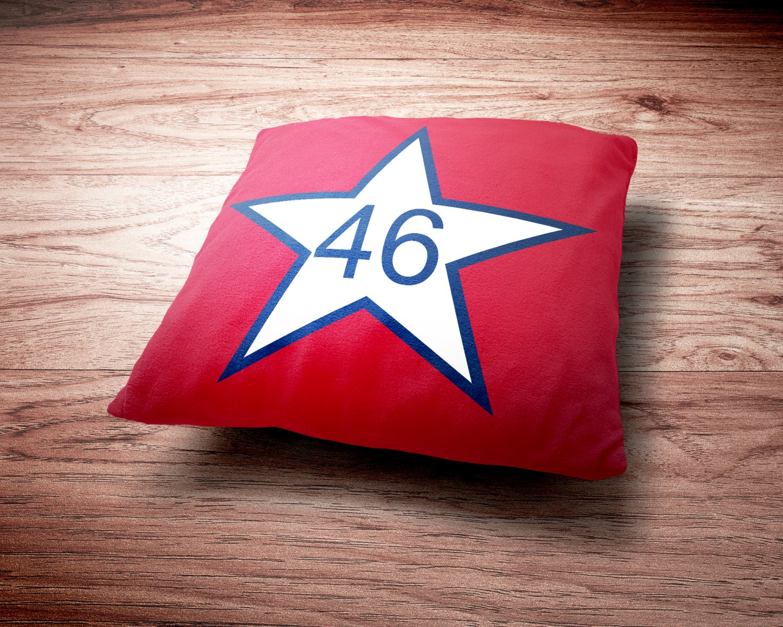 Oklahoma Pillow - First State Flag of Oklahoma Throw Pillow
