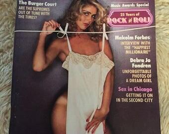 Vintage playboy magazine april 1979