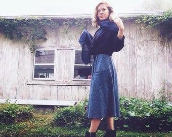 Linen Bias Skirt