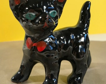 cats,ceramic cat,cat figurines,cat sculpture,cat decor,epsteam,black cat,goth,goth cats,pottery,ceramic pottery,home decor.