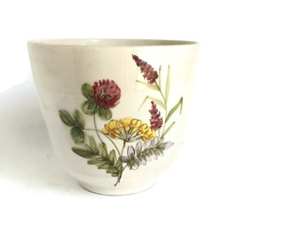 Ceramic Planter Flower Pot Ulmer Keramik Made in West Germany