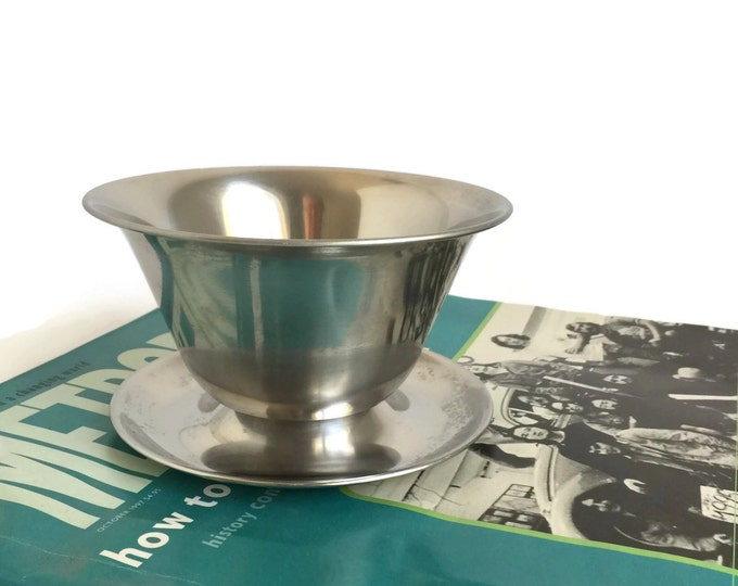 Danish Modern Stainless Steel Serving Dish by Stelton Stainless
