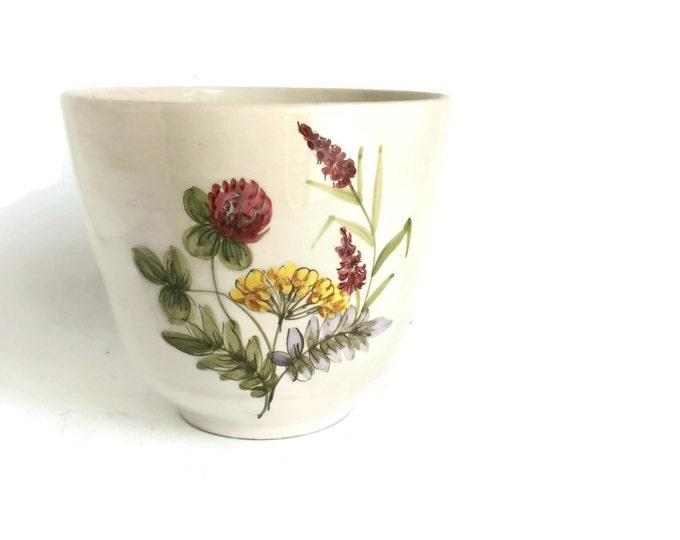 Ceramic Planter Flower Pot Ulmer Keramik Made in West Germany
