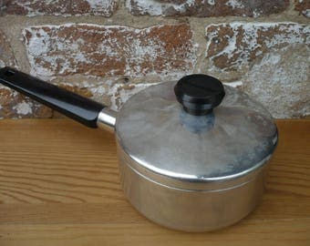 One Quart Wear-Ever Pot with Lid
