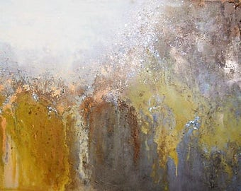 Golden Godess Abstract Painting