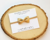 November Collection Tiny Bow-Thanksgiving Bow-multiple colors