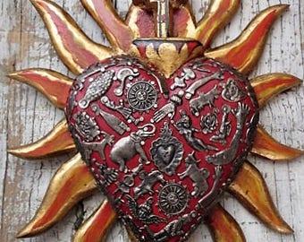 Hearts - Wood, Milagros