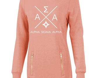 Alpha Sigma Alpha North Hampton Infinity Design Sweatshirt