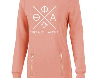 Theta Phi Alpha North Hampton Infinity Design Sweatshirt