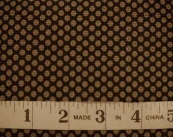 1 YD - Petite Prints (brown) by French General from MODA Fabrics