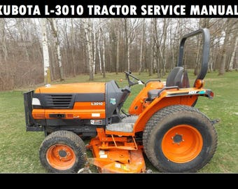 Kubota tractor l3010 repair manual