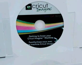 DVD Getting to Know Your Cricut Imagine Machine Replacement