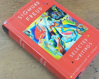 Selected Writings of Sigmund Freud ~ 1980 Hardcover Book, Introduction by Robert Coles, Book of the Month Club