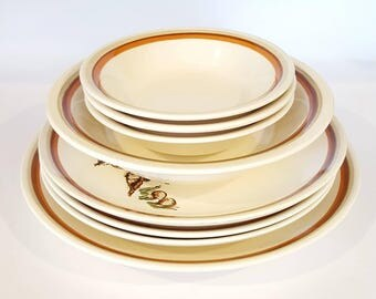 Royal China Jeannette Woodland Magic Dinnerware Set
