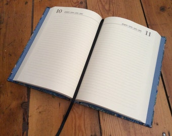 Custom Made Perpetual Day-to-a-Page Diary/Planner