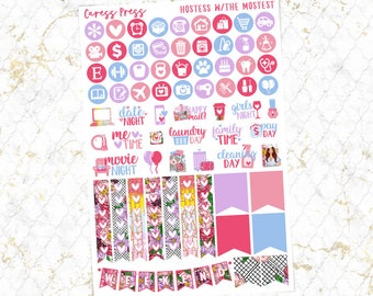 Hostess with the Mostest Functional Sheet | 69 Stickers