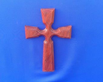 Item# WD0123, Wall Cross, Wood Wall Cross, Decorative Cross, Hanging Wood Cross, Christian Decor, Wooden Cross, Handmade Cross, Cross