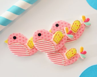 Pink Sweety Bird, Pack of 4