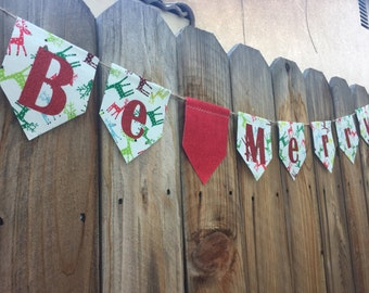 Be Merry Christmas Banner
