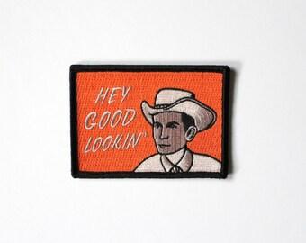 "Hank Williams ""Hey Good Lookin"" Patch"