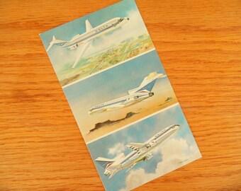 Delta Airplane Postcard