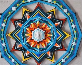 Go With The Flow Figurative Yarn Mandala Ojos de Dios 50 cm