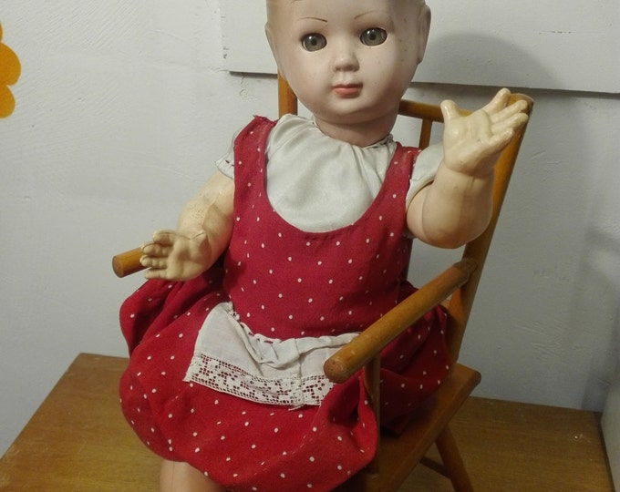 Vintage furga doll, made in italy