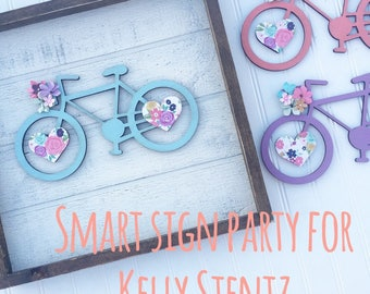 Smart Sign Party for Kelly Stentz