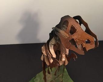 T-Rex metal Skeleton