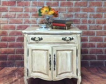 Gorgeous Provincial Nightstand