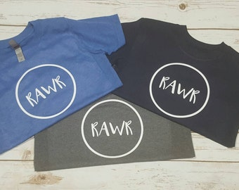 RAWR Tee-Available in Infant/Children/Adult Sizes