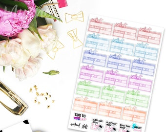 Workout Stats Planner Stickers