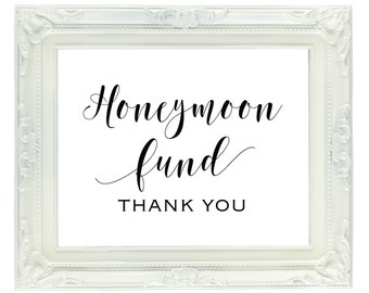 Honeymoon fund | Etsy