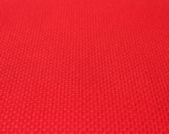 "Red Aida Fabric 14ct Sold per 4"" / 10 cm Fabric Red Cross Stitch DMC 100% Cotton 14ct Fabric Needlepoint Cross Stitch DIY Supply DMC"