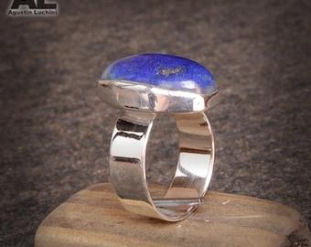 Silver Ring whit Lapislazuli - Anillo con Lapislazuli