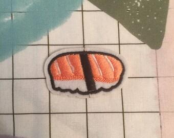 Salmon sushi patch