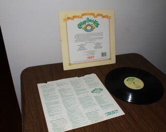 Record 33 Cabbage Patch Kids Cabbage Patch Dreams 1984