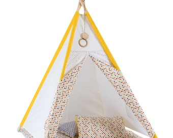 kinder tipi etsy. Black Bedroom Furniture Sets. Home Design Ideas