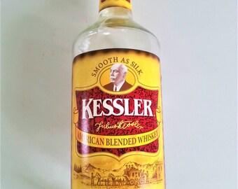 Kessler Whiskey ~ Empty 1 L Bottle