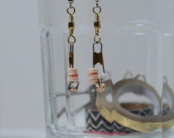 GENESIS; fishing lure jewelry, ooak