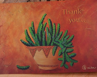 Cards Thank You Cards Blank Thank You Cards Southwest Thank You Cards Elegant Colorful Thank You Cards
